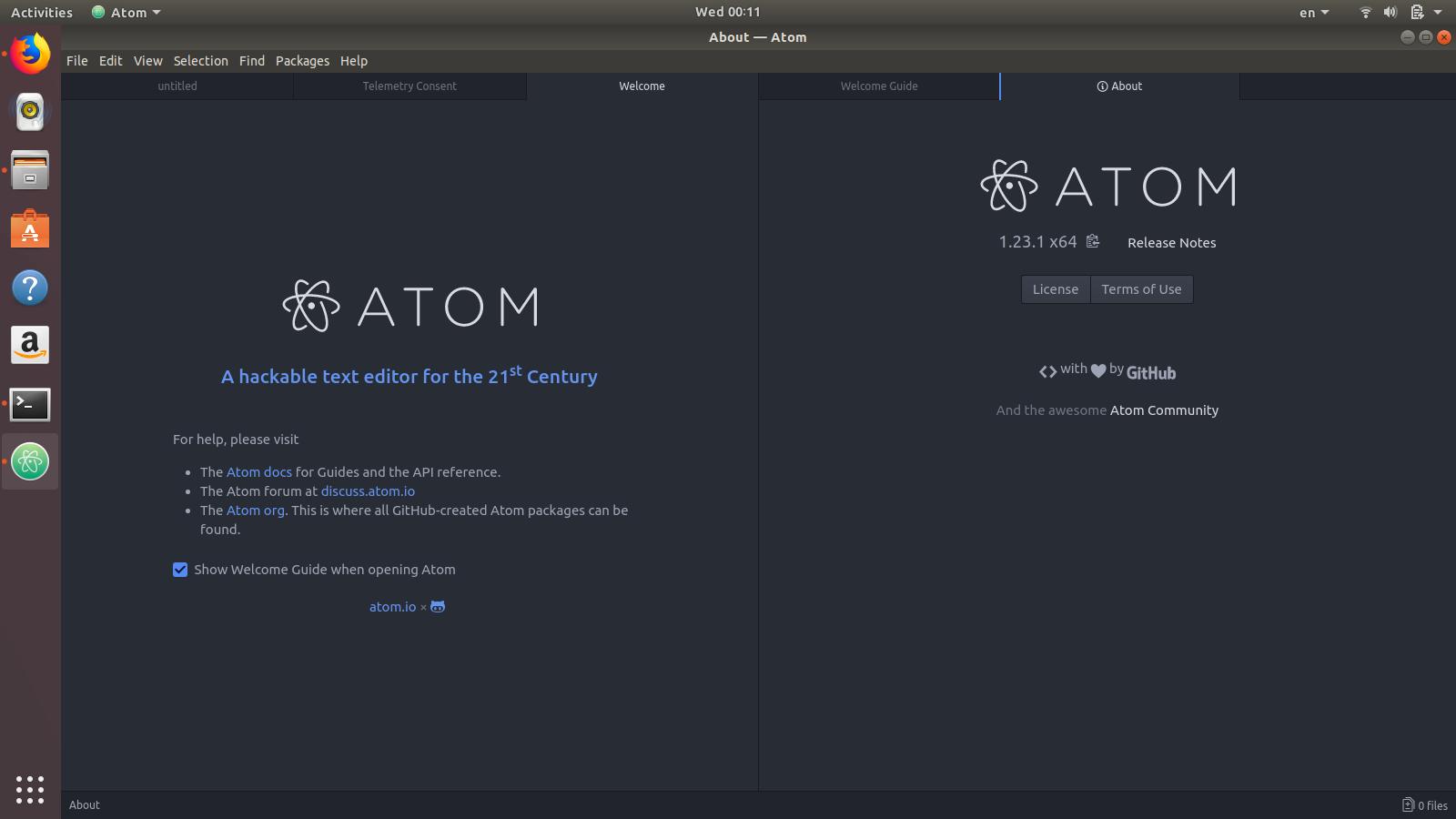 Atom Code Editor yang Dapat Melakukan Editing Binary Code