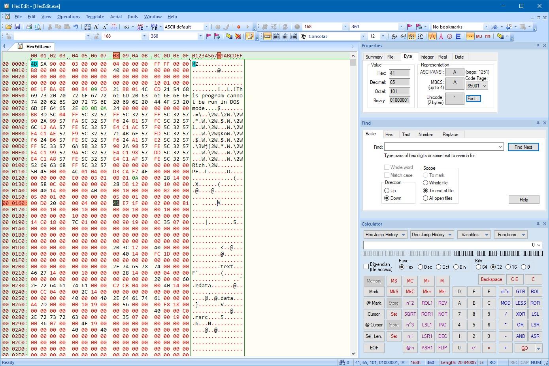 Ingin Edit Binary Kedalam Hexsadecimal? Anda Bisa Menggunakan Hexedit